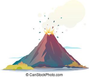vulcano, eruzione