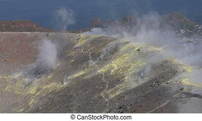 Vulcano fumarole 15