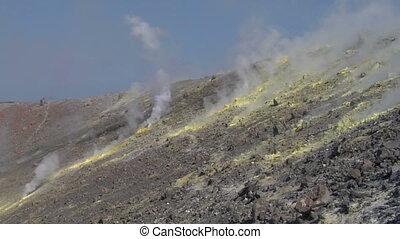 Vulcano fumarole 16