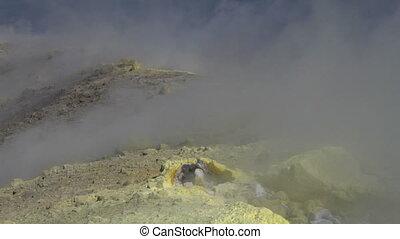 Vulcano fumarole 18