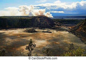vulkan, hawaiian