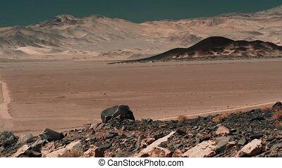 vulkanisch, bereich, ungefähr, antofagasta, de, la, sierra,...