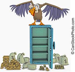 vulture - illustration