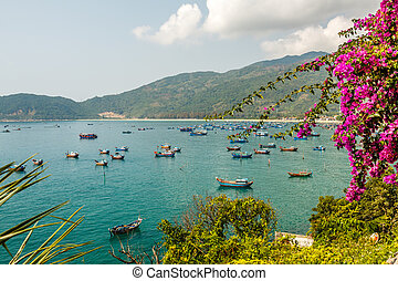 Vung Ro bay at Phu Yen province, Vietnam