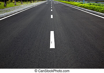 vuoto, autostrada