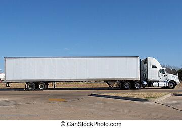 vuoto, camion