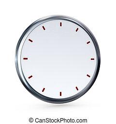 vuoto, orologio