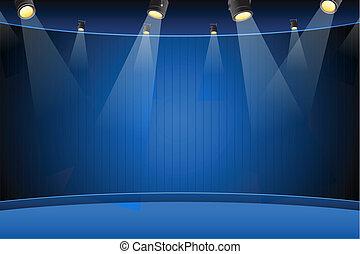 vuoto, palcoscenico