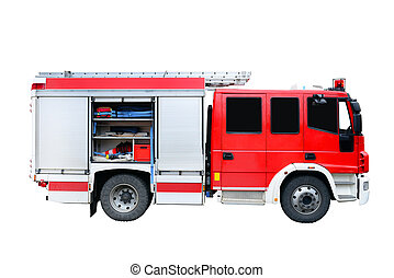 vuren redding, voertuig