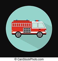 vuren truck, ontwerp