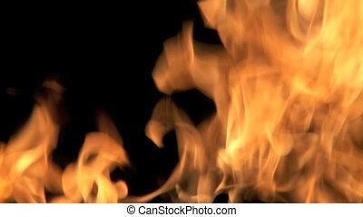 vuur, burning
