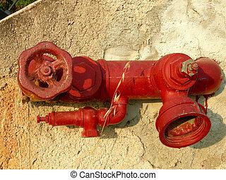 vuur hydrant af