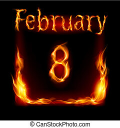 vuur, kalender