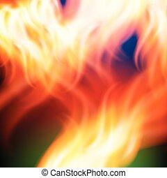 vuur, regenboog, abstract, achtergrond