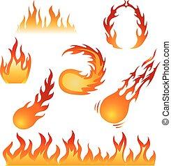 Vuur maak set