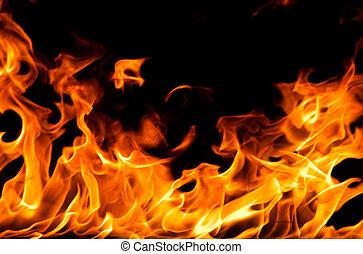 vuur, vlammen