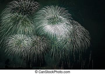 vuurwerk beeldscherm