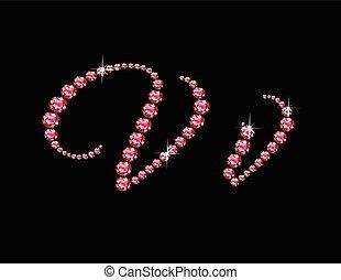 Vv Ruby Script Jeweled Font