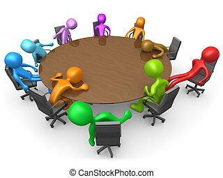 vyčerpávající, setkání