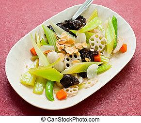 vybírání, číňan, asijský food