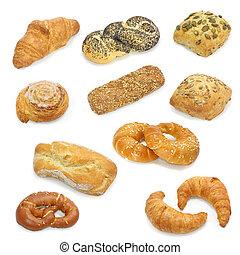 vybírání, bread