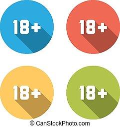 vybírání, o, 4, osamocený, byt, hotelový poslíček, (icons), jako, 18+, firma, (limi