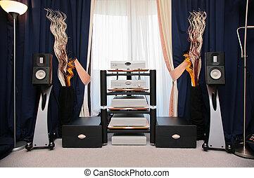 vybavení, hi-end, reprodukce zvuku