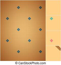 vybledlý, barvitý, puntíkový vzor, seamless, textured, model