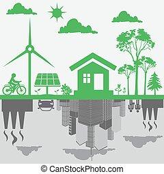 vyvolávání, sustainable