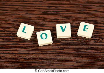 vzkaz, láska