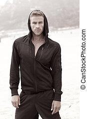 vzor, mužský, móda