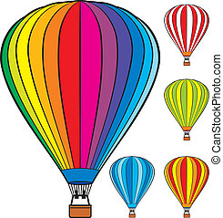 vzrušit se stavět na odiv balón