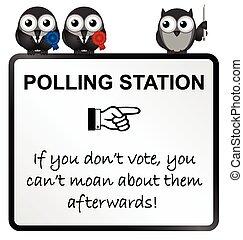 wählen, station, zeichen