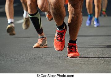 während, marathon, konkurrenz