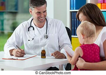 während, medizin, verabredung, töchterchen, mutter