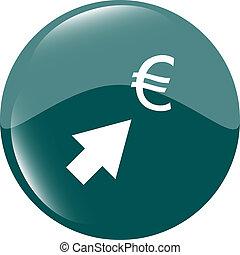 währung- austausch, heiligenbilder, euro, geld, zeichen, mit, pfeile