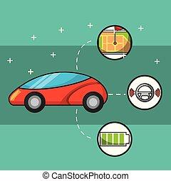 wóz, autonomiczny, pojęcie