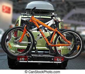 wóz, bicycles