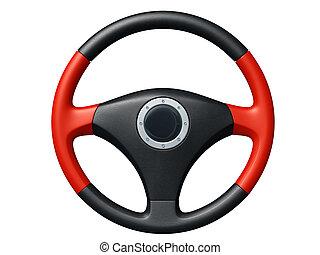 wóz, kierownica