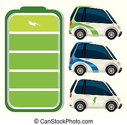 wóz, komplet, elektryczny