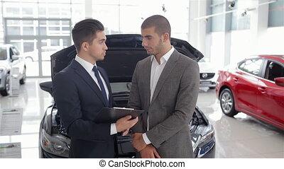 wóz, pokaz, advantages