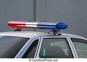 wóz, policja