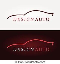 wóz, sport, logo