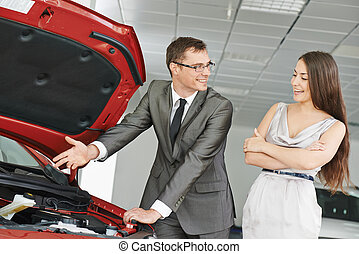 wóz, sprzedajcie, albo, auto, kupno