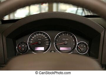 wóz, szybkościomierz