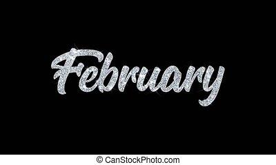 wünsche, text, blinken, grüße, feier, februar, partikeln, einladung, hintergrund