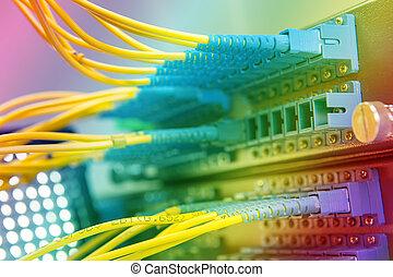 włókno, sieć bardziej uporczywa