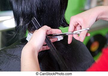 włos cięcie