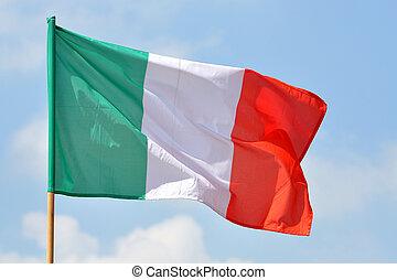 włoska bandera