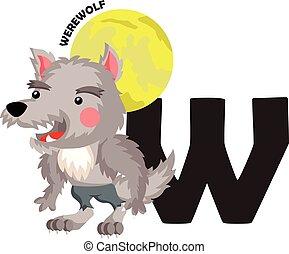 W for Werewolf